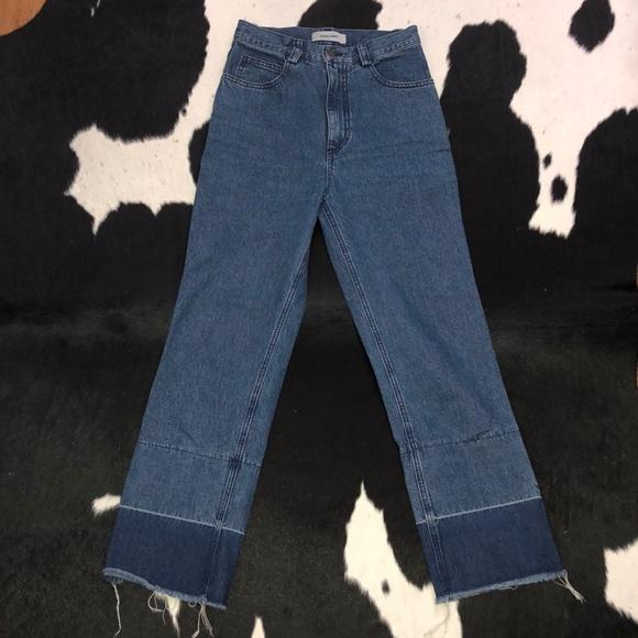 Rachel Comey Denim - Rachel Comey legion cropped high waisted jeans, 2